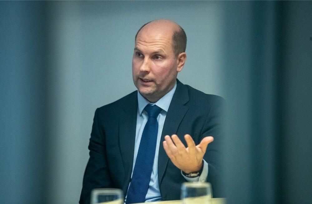 Vaiko Tammeväli arvates kasvab Swedbank Eestis paraja kiirusega.