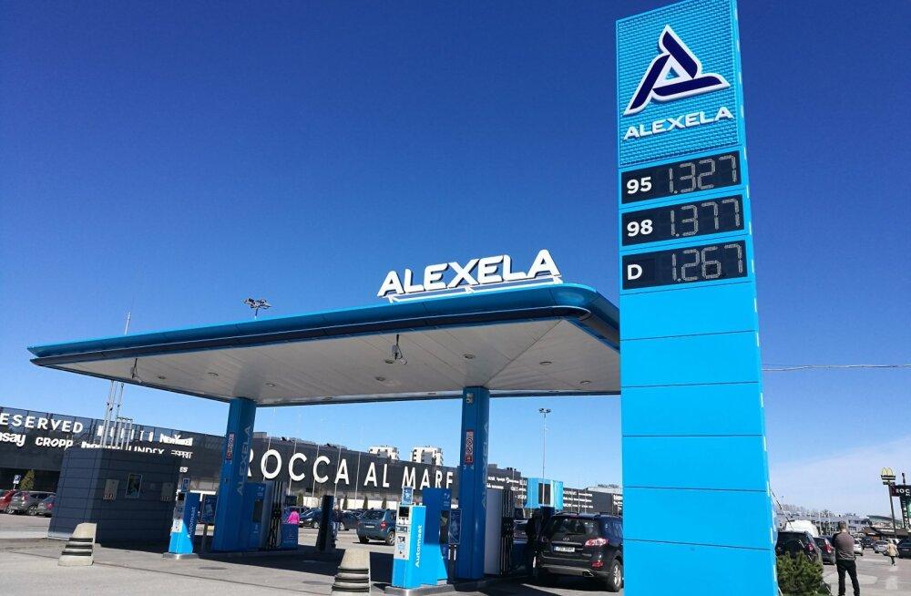 Alexela tuunib oma kõik 101 tanklat elektrisiniseks