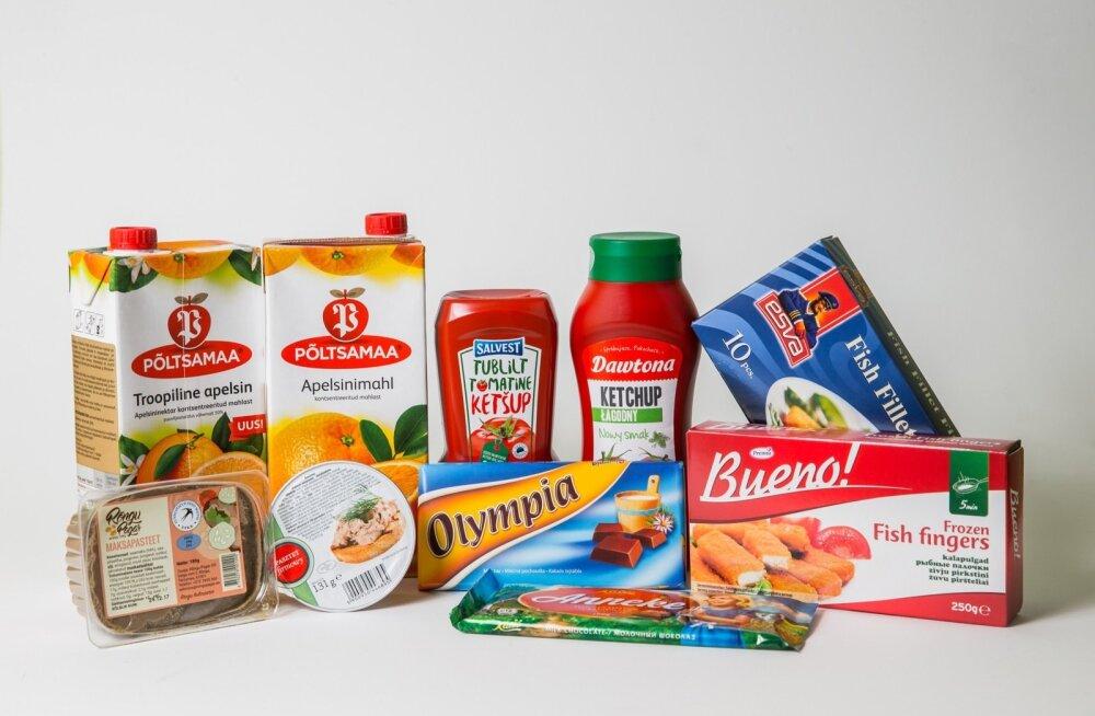 Sarnased tooted võivad olla väga erineva hinna ja koostisega.