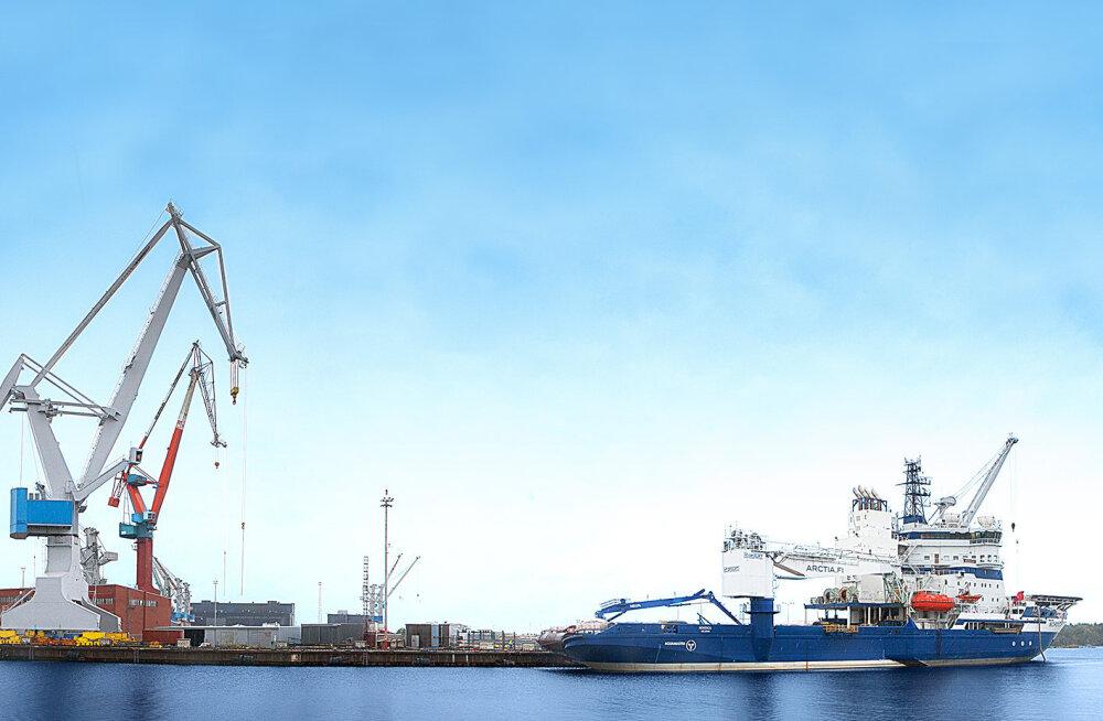 Tallinna Sadam eelistas parvlaevade ehitajana tühjale Rauma dokile Gdanskit - nüüd on Rauma tellimusraamat aastateks täis