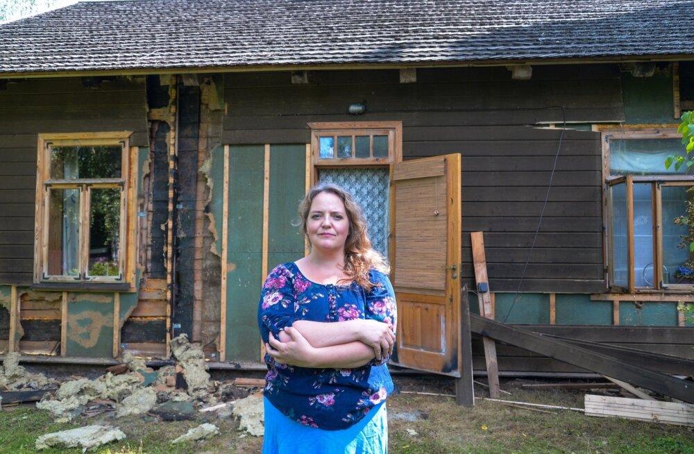 Maja saab kindlustuse abiga loodetavasti peagi korda, aga kuidas lappida hingehaavad?