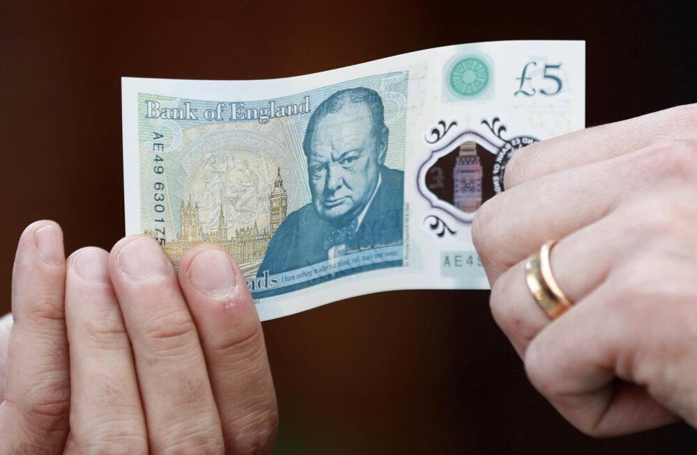 Briti keskpangal on veganitele halb uudis. Loomne rasv jääb rahatähtede koostisse