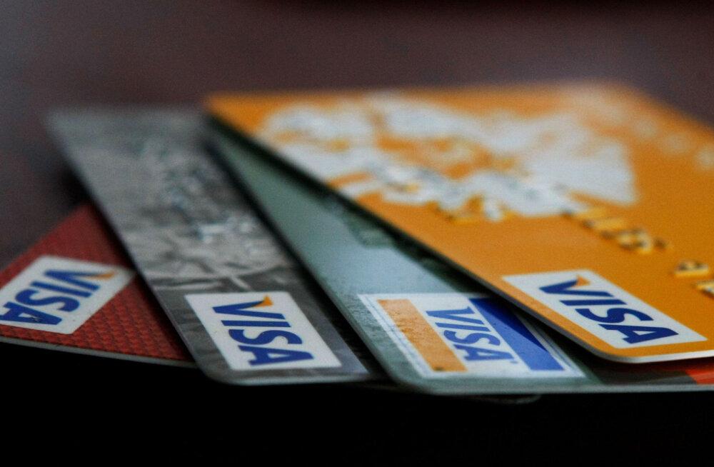 Uuring: Häkkerid murravad Visa krediitkaardi turbe kuue sekundiga