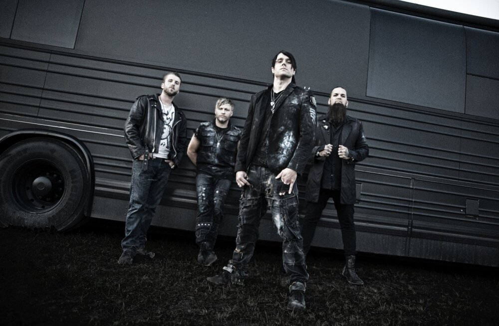 Уже сегодня! В Таллинне состоится концерт рок-группы Three Days Grace