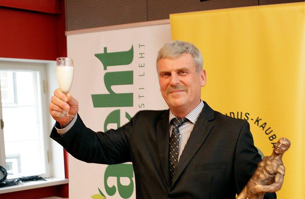 Lembit Paal hindab oma aasta põllumehe tiitliga aastat väga tegusaks.