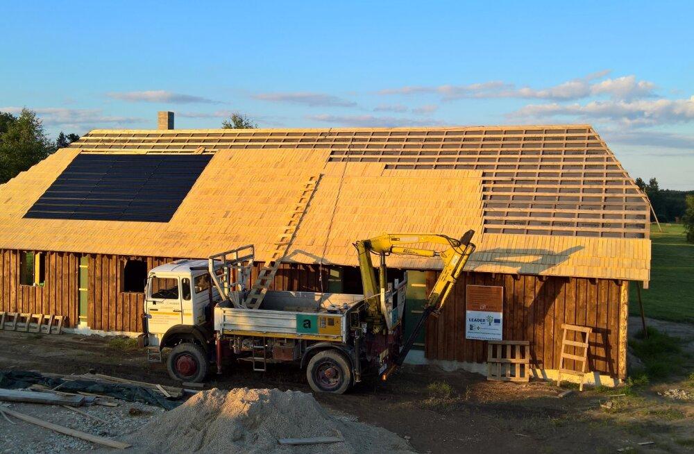 Eestis valmib esimene põhuplaadist maja. Milline ehitusmaterjal on põhuplaat?
