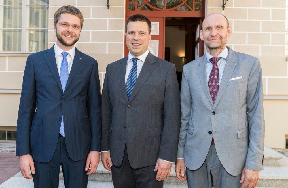 Koalitsiooniparteide juhid