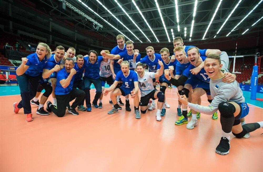 Eesti seljatas Portugali ja kohtub Kuldliiga finaalis Tšehhiga! Ühtlasi kindlustati koht Challenger Cupile