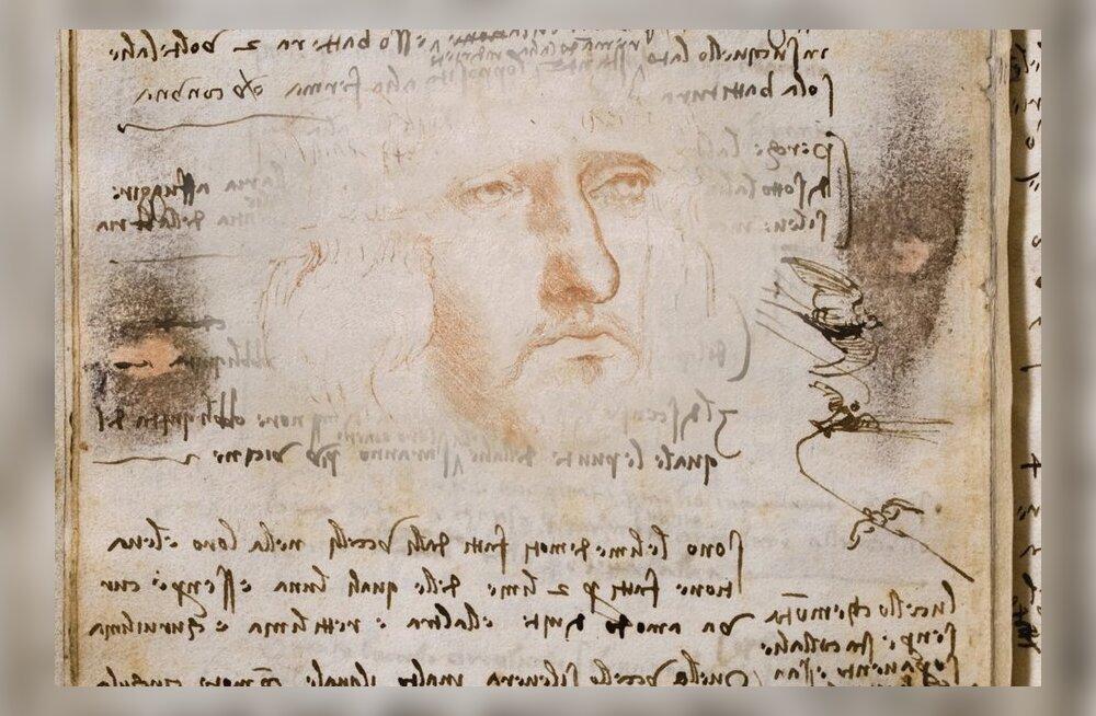 Da Vinci näide: miks paber vananedes koltub?
