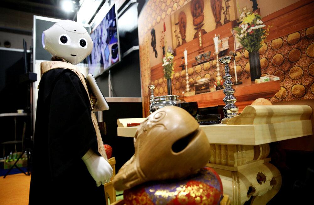 Järgmine elu ootab: jaapanlastel valmis budistlik robotsurnumatja