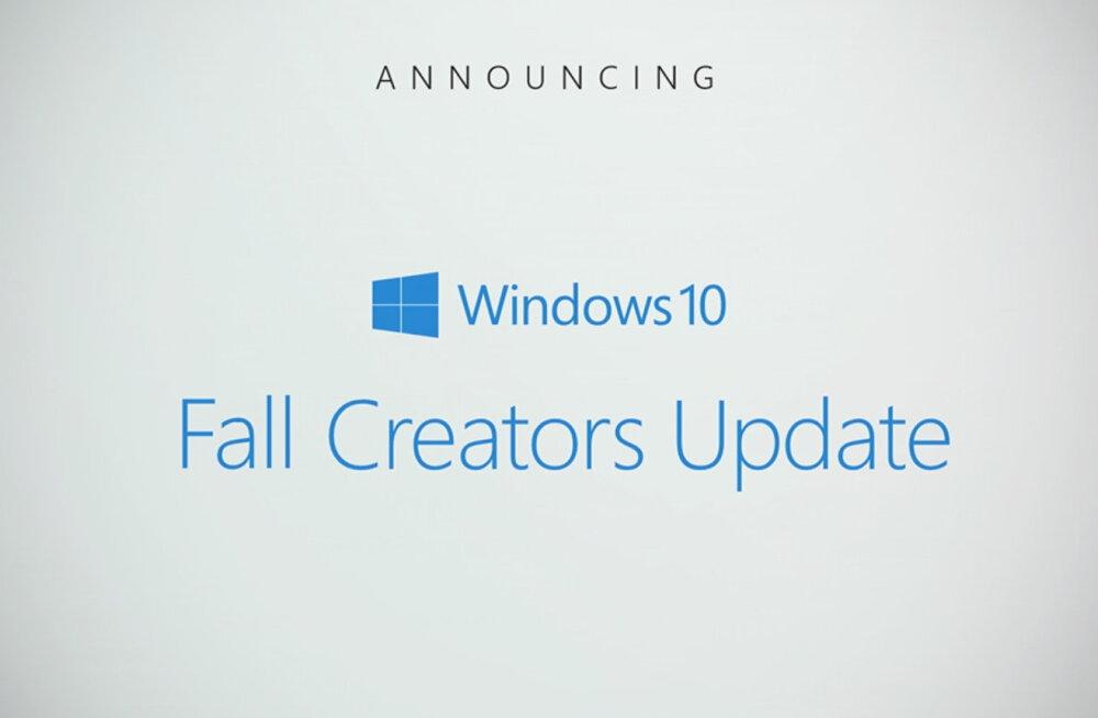 Microsoft uuendab Windows 10 opsüsteemi taas sügisel – ja asi on ootamist väärt!