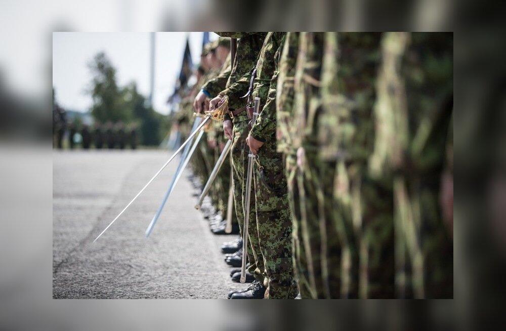 1. jalaväebrigaadi etteotsa sai Vahur Karus. Tseremoonia Tapa sõjaväebaasis