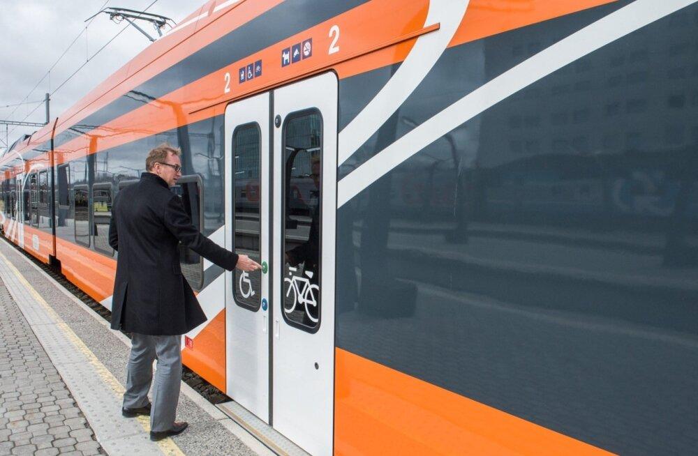 С 10 декабря вырастет стоимость билетов на поезда Elron