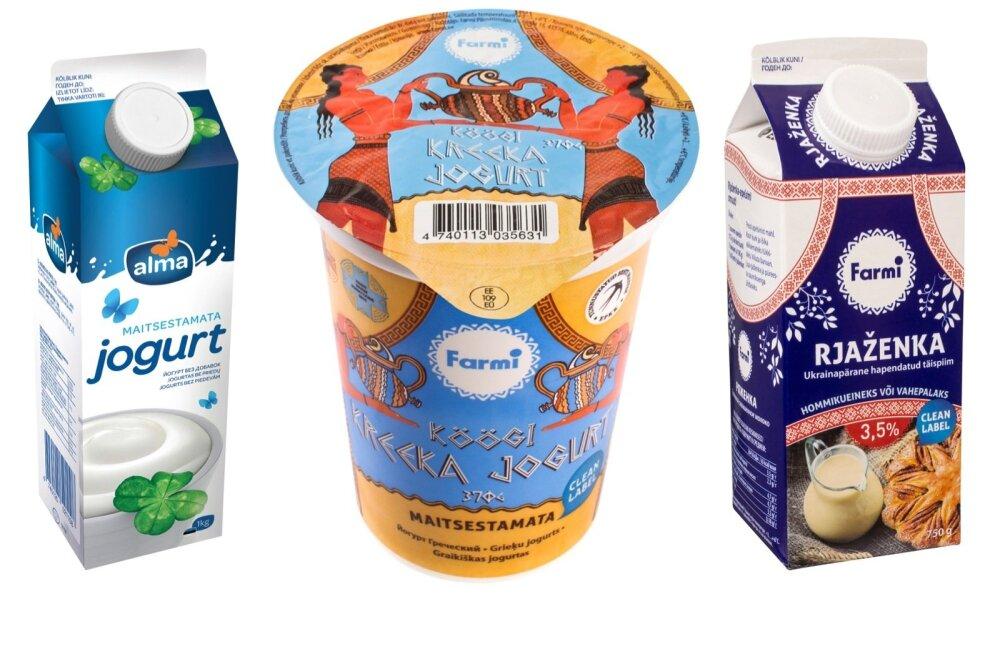 5 põhjust, miks eelistada maitsestamata piimatooteid