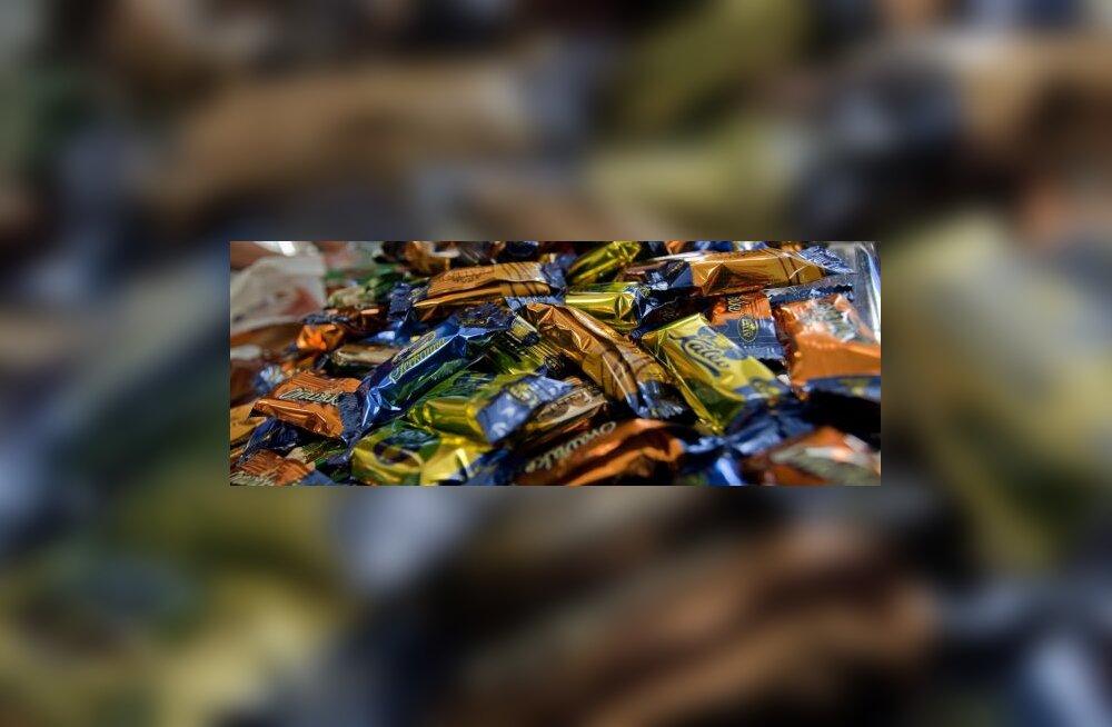 Эвелин Ильвес ополчилась на конфеты Kalev