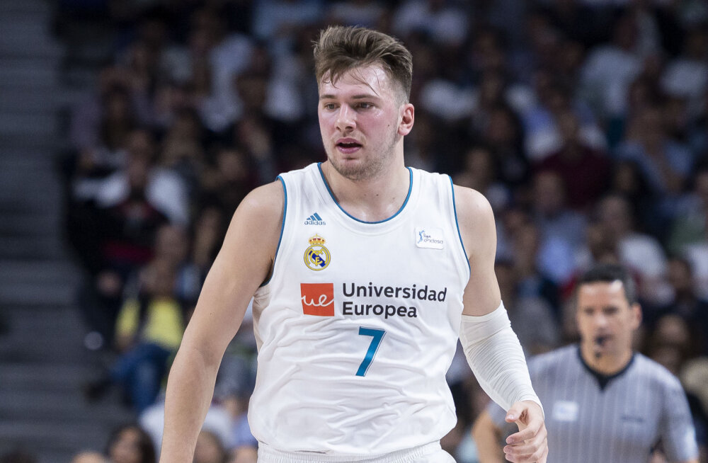 Kas Euroliiga kõige väärtuslikumaks mängijaks valitud Luka Dončić osaleb siiski NBA draftis?