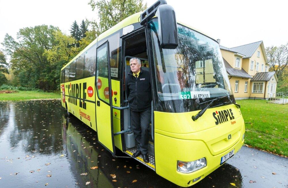 Aare Järvik, Eesti Bussi OÜ bussijuht arvab, et oma osa liini kadumises on ka kohalikel inimestel, kes pole sõiduhuvi üles näidanud.