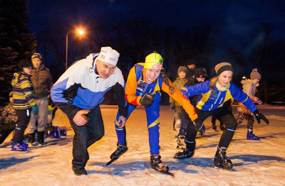 Saskia Alusalu inspireerija Väino Treiman aasta treeneriks! Aga miks mitte?
