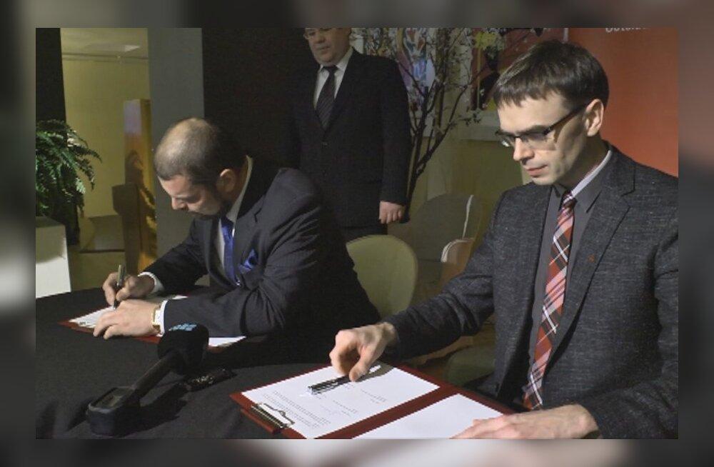 VIDEO: SDE ja Vene Erakond kirjutasid alla ühinemislepingule.