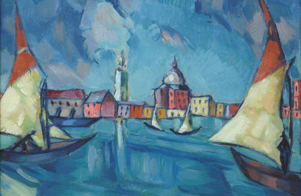 """Konrad Mägi. """"Veneetsia"""". 1922–1923."""