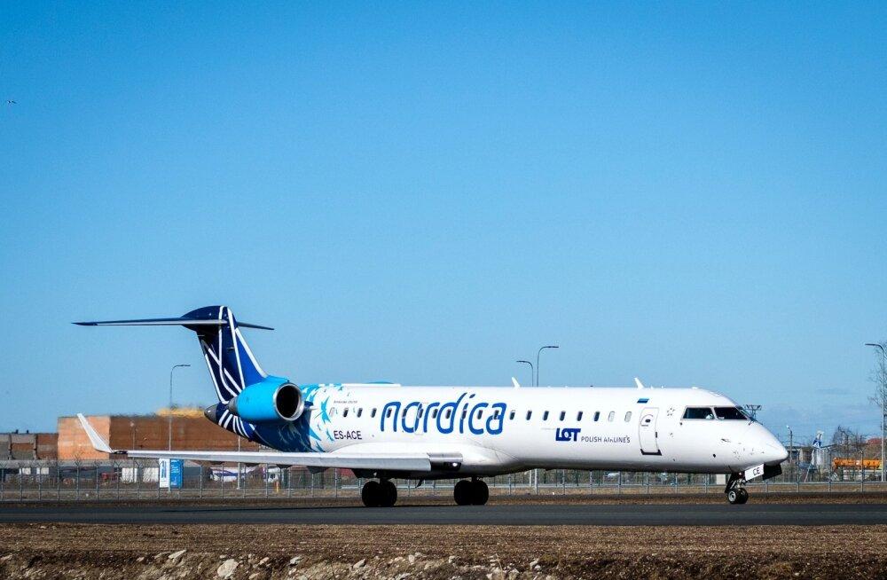 Nordica lend Vilniusesse jäi tehniliste probleemide tõttu ära