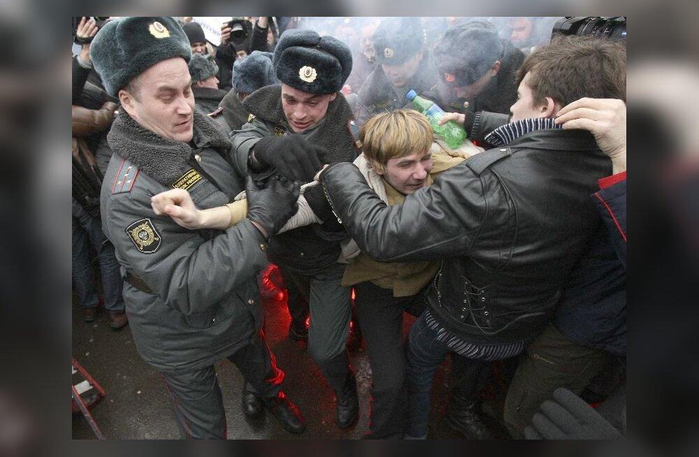 Raevu päeval pöördus rahva viha Putini vastu