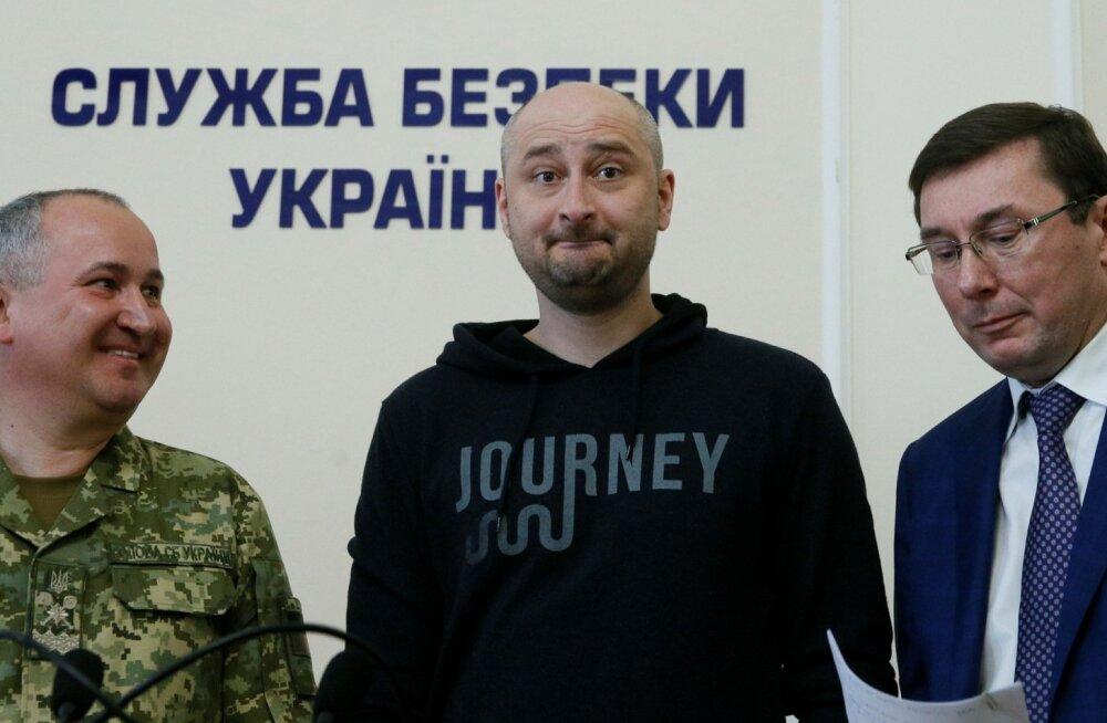 UKRAINE-RUSSIA/JOURNALIST-ALIVE