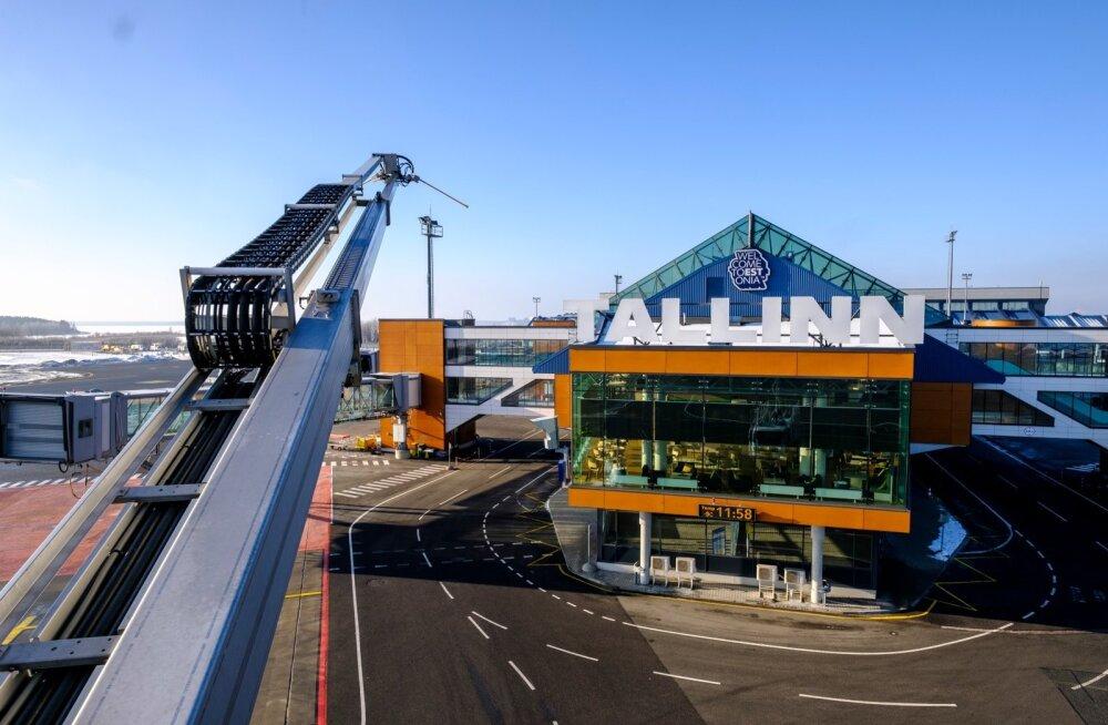 Tallinna lennujaam on ärimeeste värav Eestisse