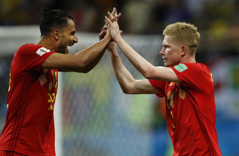 BLOGI | MM-il alles vaid Euroopa meeskonnad! Belgia alistas veerandfinaalis Brasiilia 2:1