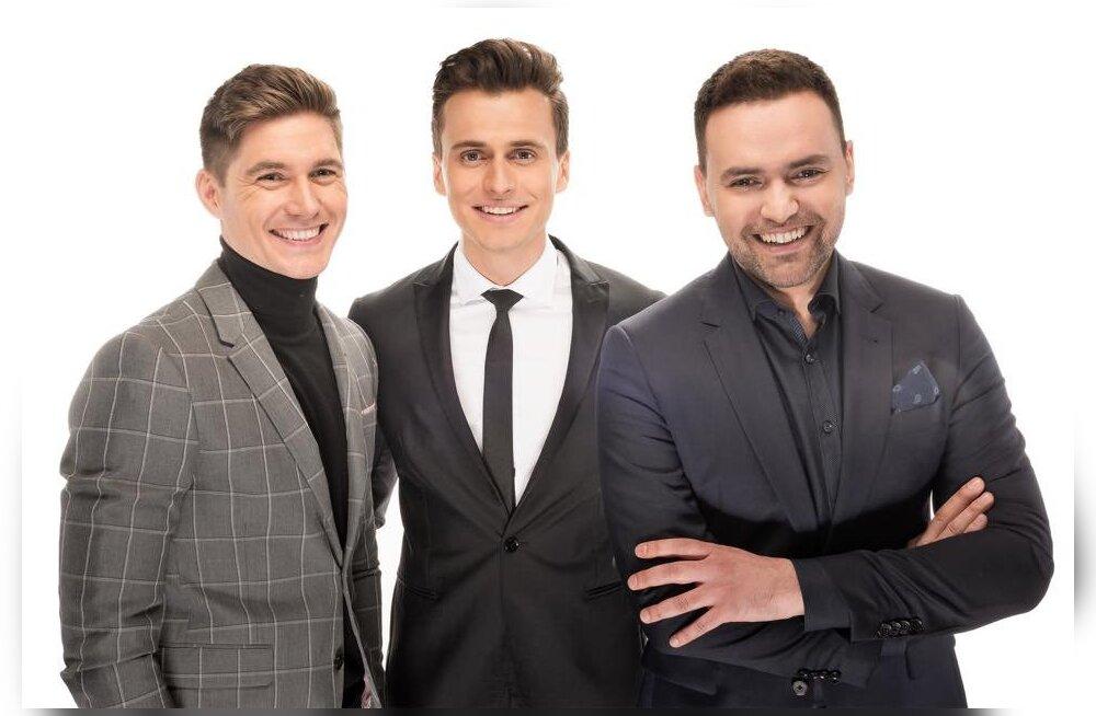KOMPU ALARM: Tänavust Eurovisionit juhib erakordselt nägus kolmik