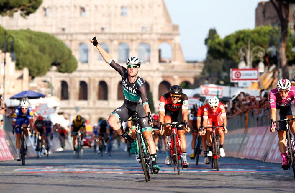 Sam Bennett võidab Girol etapi