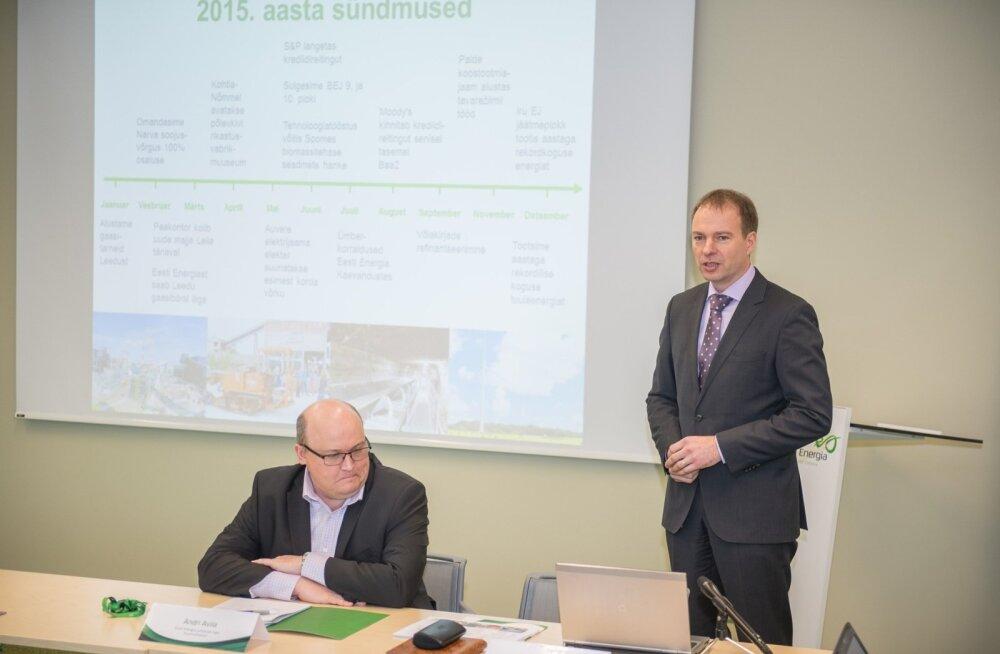 Eesti Energia võlakoorem ulatub peaaegu miljardi euroni