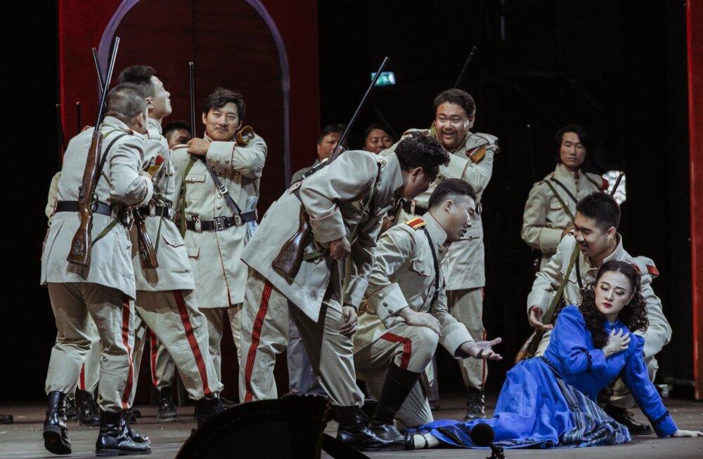 Publikule avaldas muljet Xu Xiaoyingi kehastatud Micaela.
