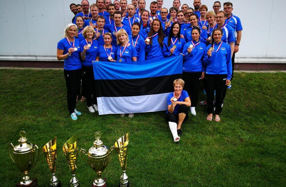 Eesti sportlased toovad indiaca MMilt koju kaks kuldmedalit