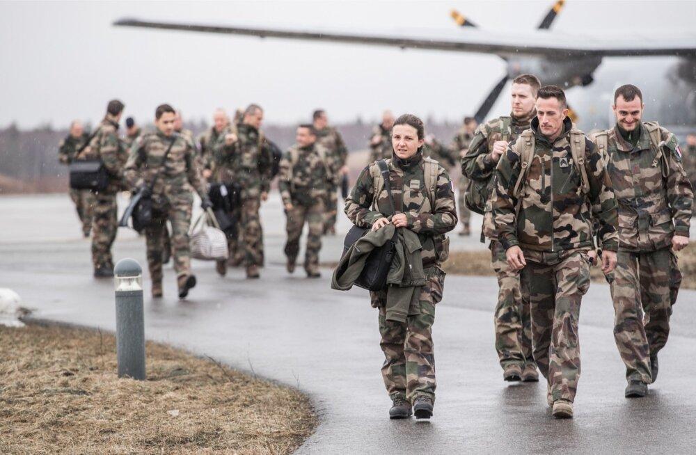 Prantsuse südurid saabuvad Ämarisse