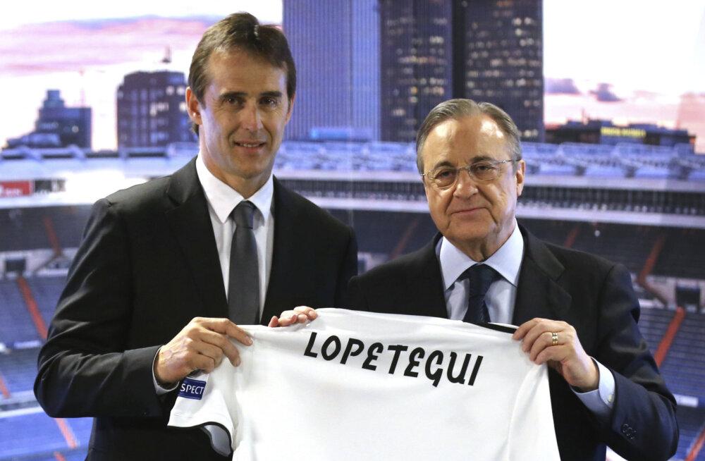 Madridi Reali president: Lopetegui vallandamine on õigustamatu!