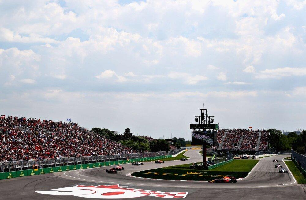 Selle nädala Montreali GP-l tehti möödumine lihtsamaks