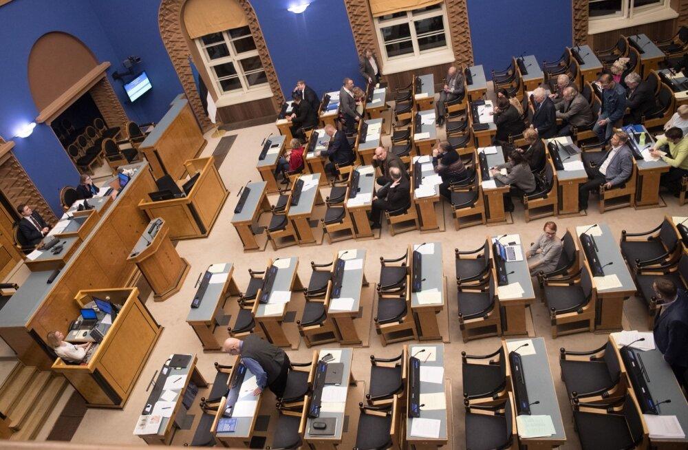 Riigikogus tuleb täna kolmandale lugemisele 2018. aasta riigieelarve eelnõu.
