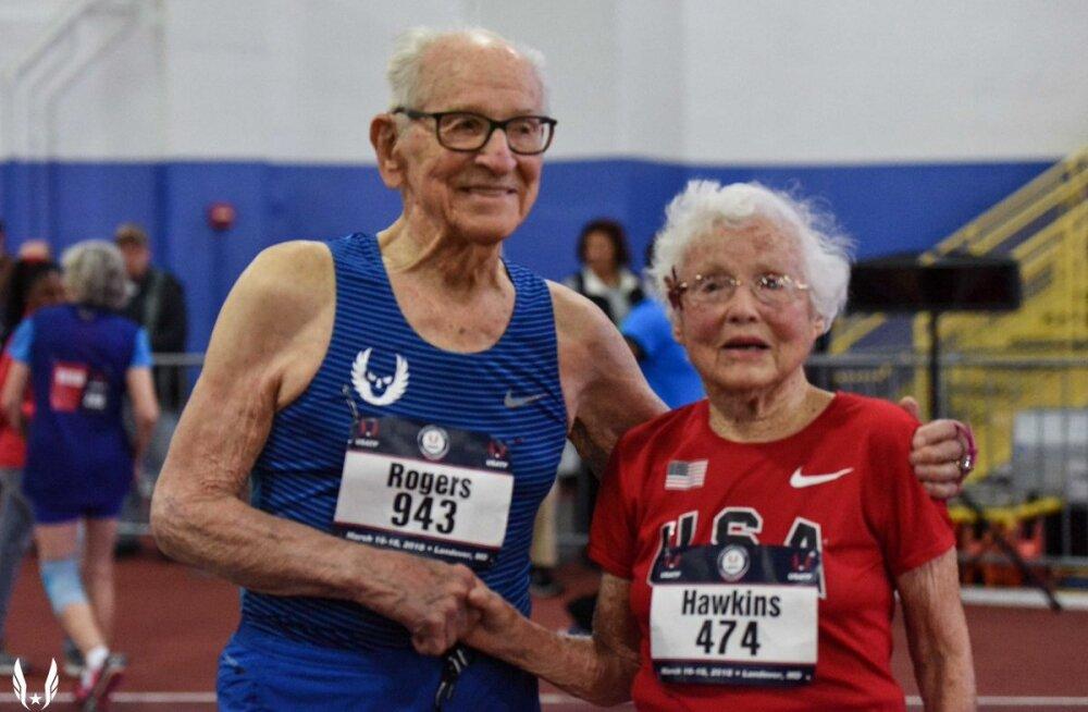 VIDEO | 102-aastane vanaproua püstitas 60 meetri jooksus maailmarekordi