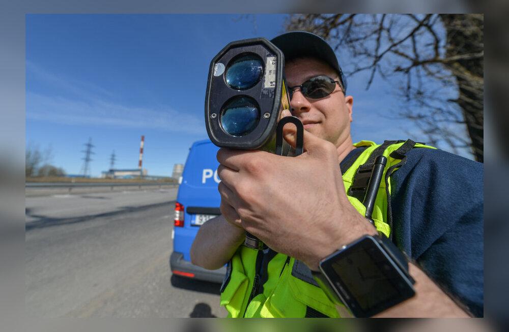 Politsei koostas liiklusrikkumiste hinnakirja