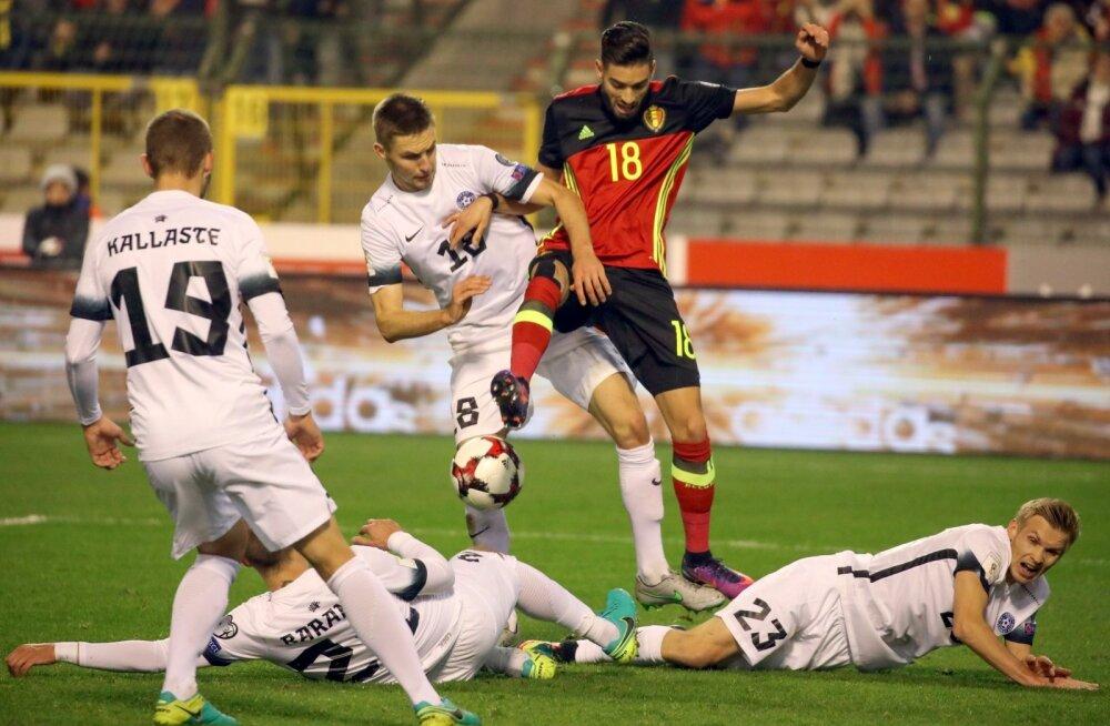 Soccer WCup 2018 Belgium Estonia