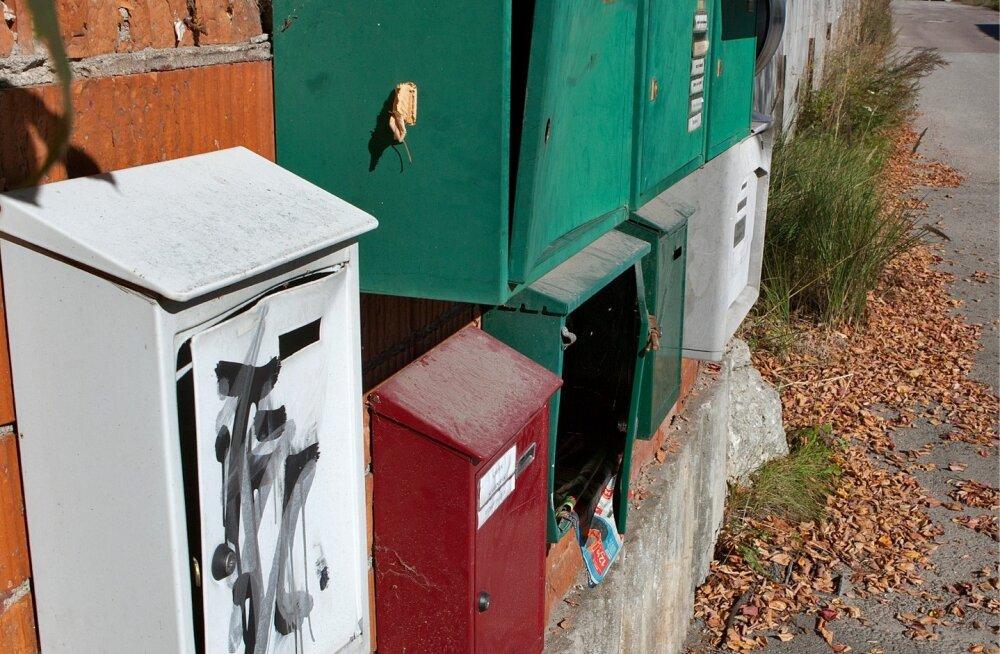 Postkast, postkastid