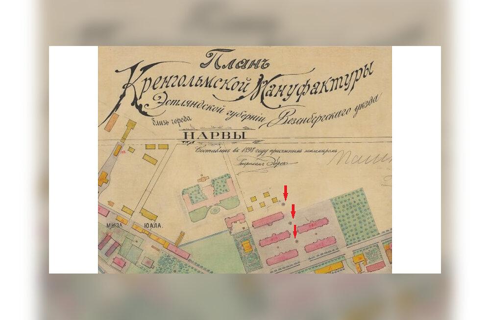 Большая загадка маленького архитектурного объекта на нарвском Кренгольме