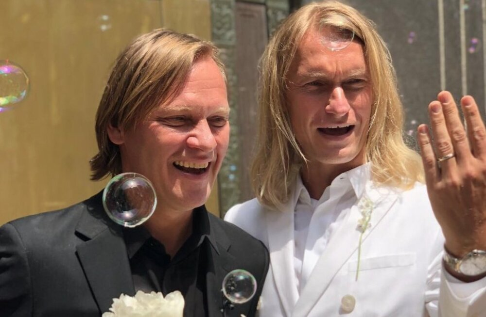 В Нью-Йорке заключили первый однополый брак между двумя гражданами Эстонии