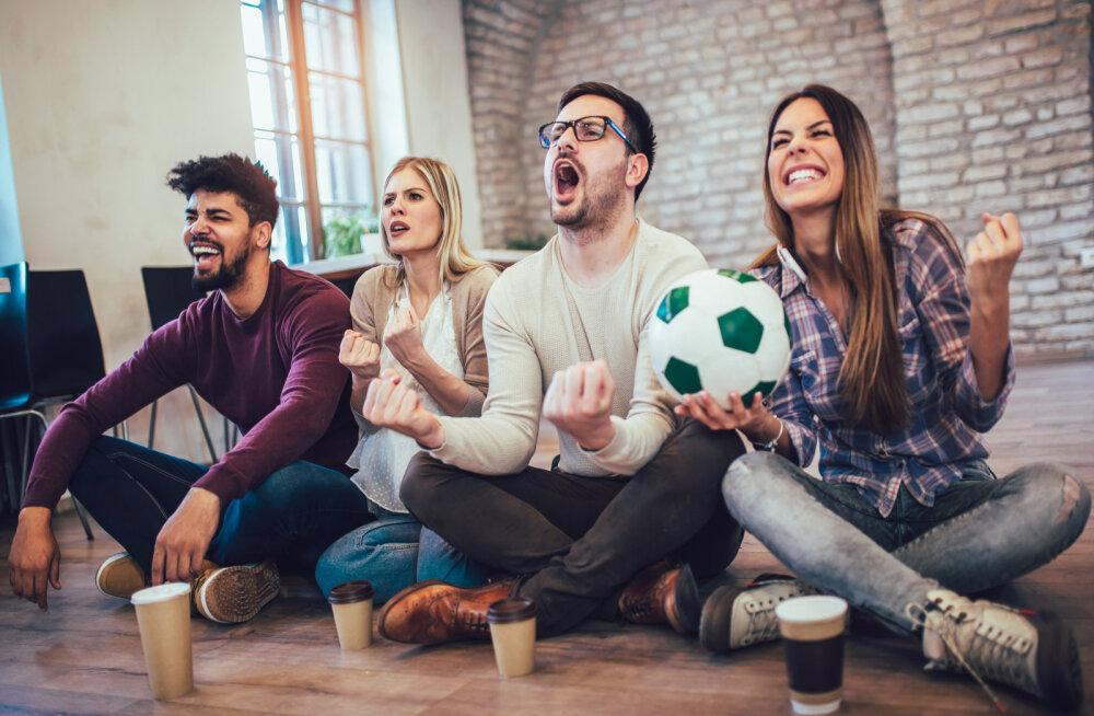 Martin Hanson: jalgpalli MM on sotsiaalne liim