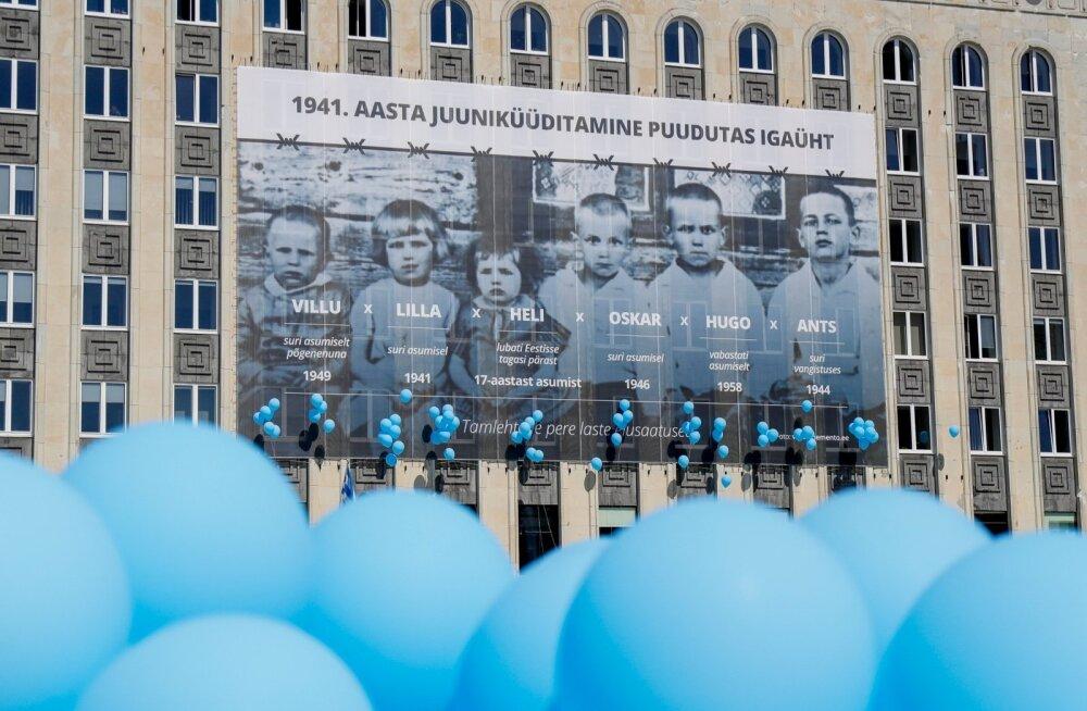 Täna mälestatakse üle Eesti juuniküüditamise ohvreid