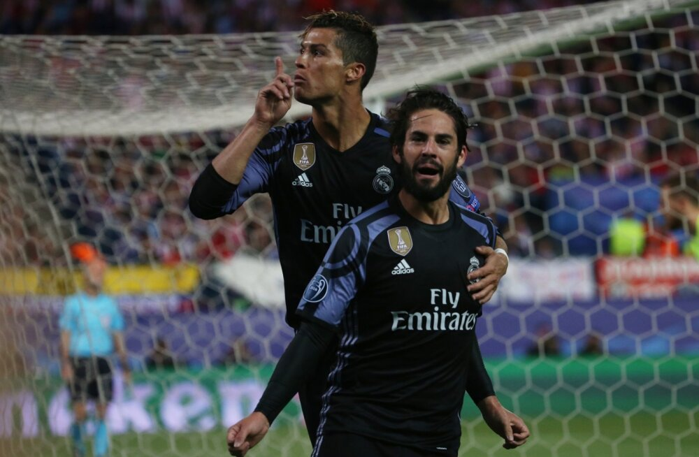 Cristiano Ronaldo  ja Isco