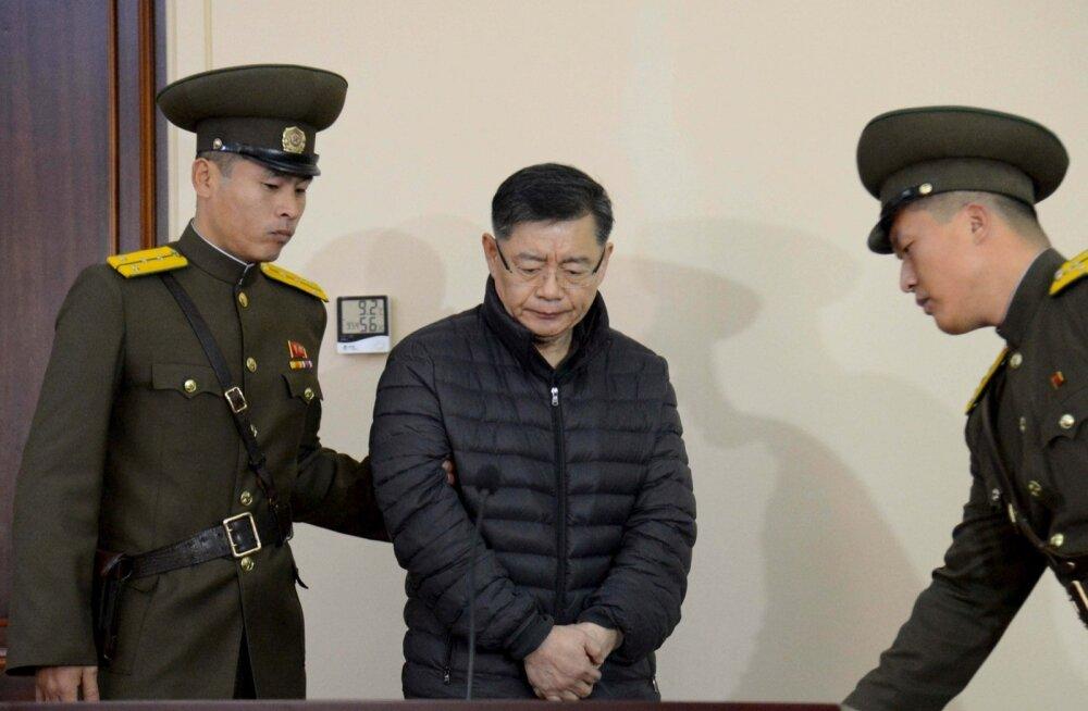 """Põhja-Korea vabastas """"haigusamnestiaga"""" eluaegset vanglakaristust kandnud Kanada pastori"""