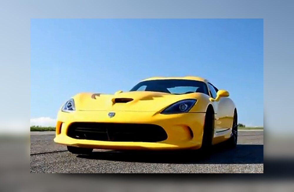 Kaks korda kallimalt: Dodge SRT Viper võib peagi jõuda ka Euroopa turule