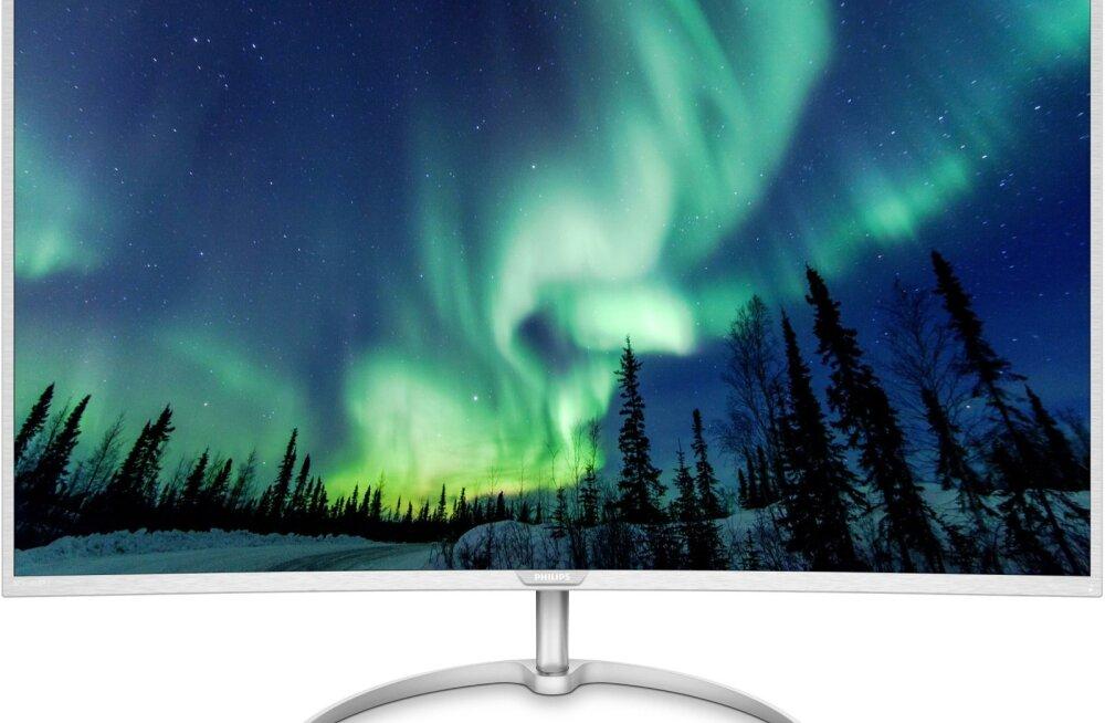 Värvigamma on monitoril väga hea, värviulatusega võib rahule jääda.
